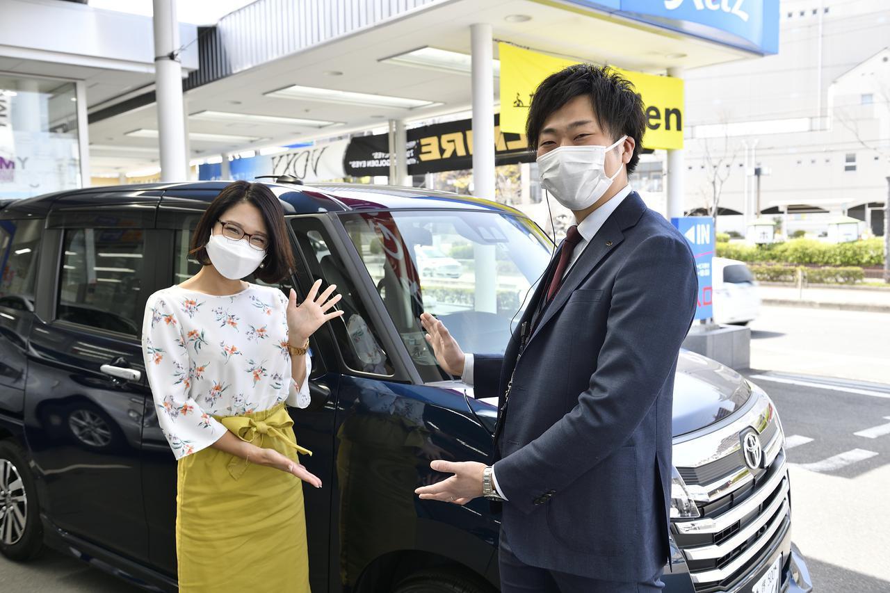 画像: 本日ご紹介するのはROOMY。ご紹介頂くのはアドバイザーの黒田さんです。