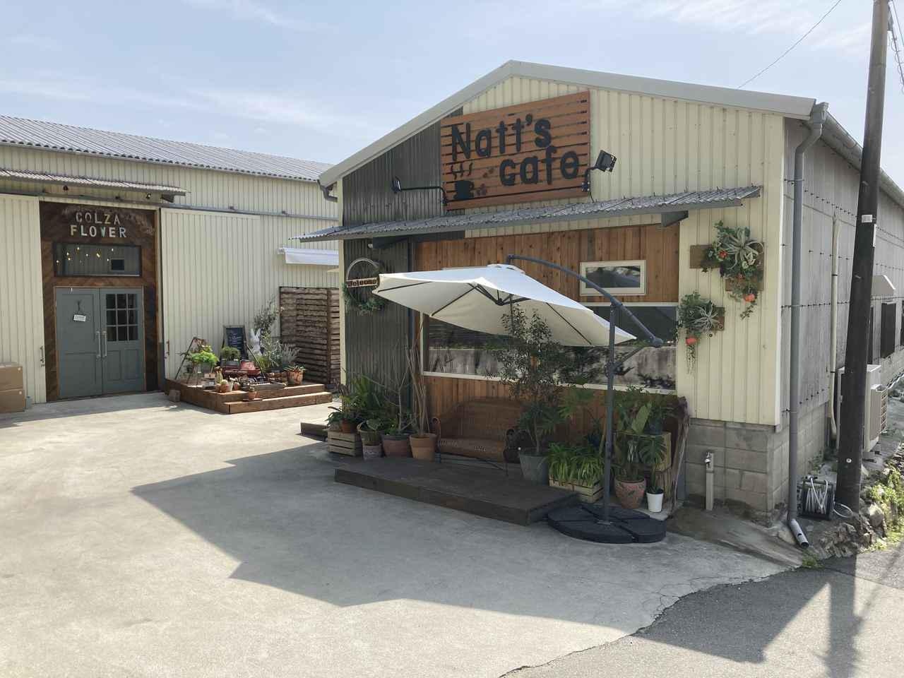 画像: 今回お伺いしたのはこちらのカフェです:ナッツカフェ (Natt's cafe)