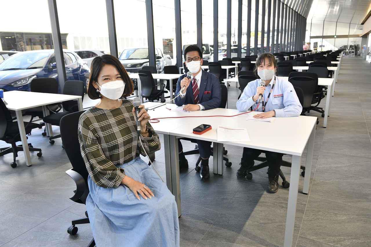 画像: お話を伺ったアドバイザーの大室さん(左)、飯田さん(右)。