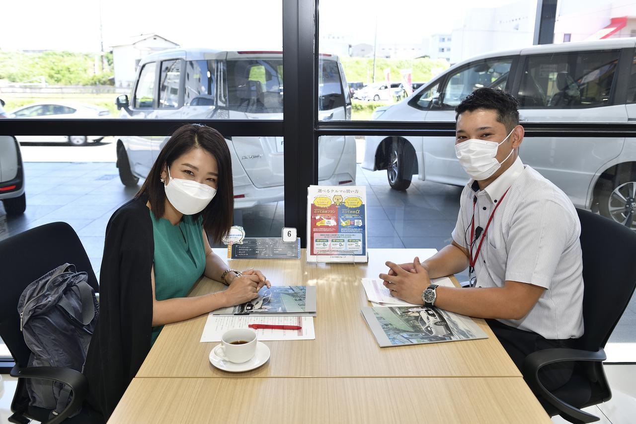 画像: アドバイザーの福島さんにお話を伺います。