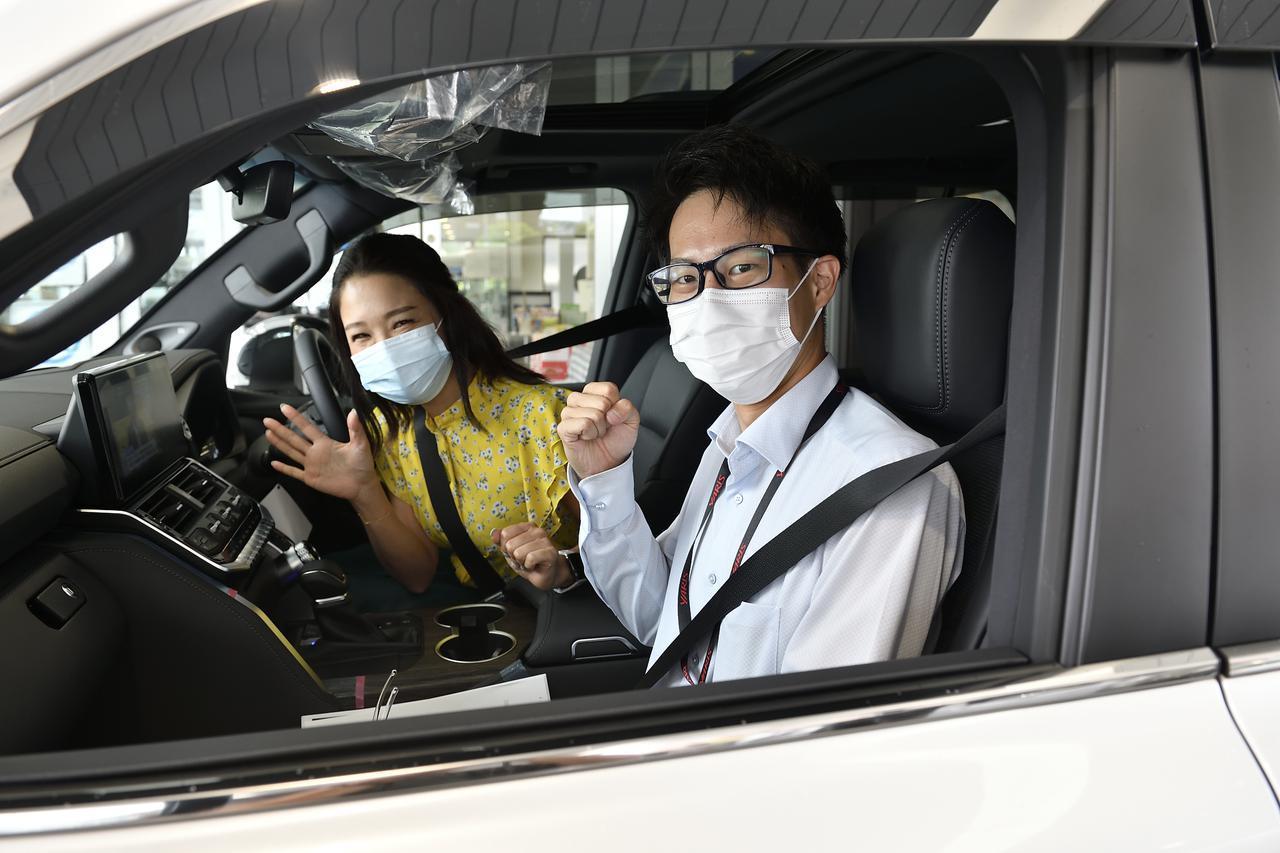 画像: 今井さん楽しそう!ドライブインプレッションもよろしくおねがいします!