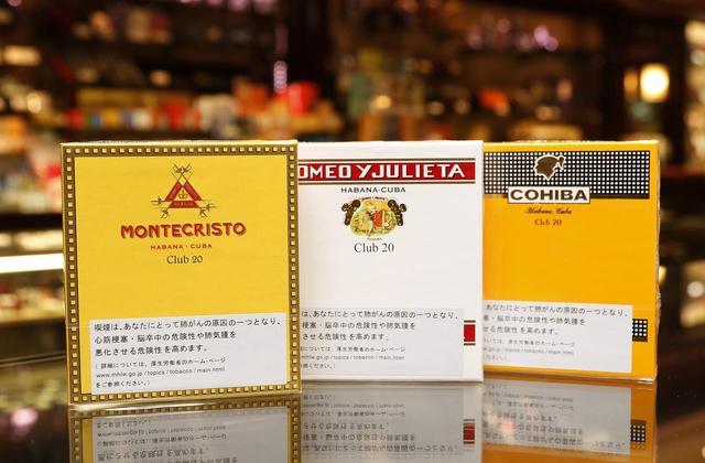 画像: 同じシガリロでも価格には差がある。数千円以上するものは、ブランド毎の特長がより強調されており、料理やワインなどに合わせて選ぶ人も多いようだ