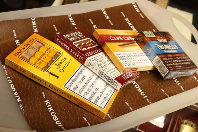 画像: 箱から出してシガレット感覚で愉しめるシガリロ。1,000円前後で購入できるため、デイリー用シガーとして愛煙する人も。まずはこちらから試してほしい