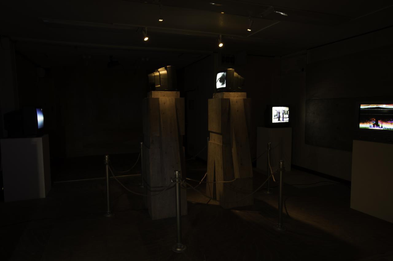画像: 4スペースのインスタレーション、計12の映像作品を展示