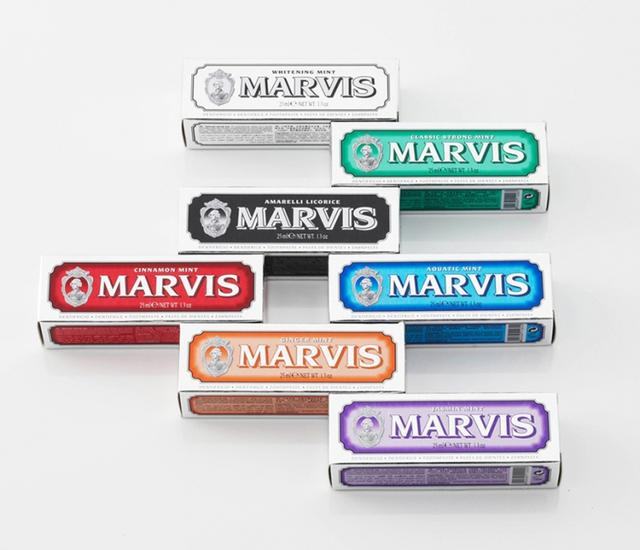 画像: MARVIS ブラック・ボックス(25mlx7本)6,800円(税抜) marvis.jp