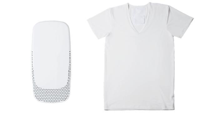 画像: 着心地が良く、軽いデバイスはシャツにも目立ちにくい