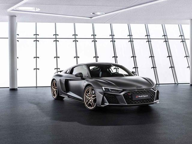 画像: 辿り着いた「Audi R8 Decennium」