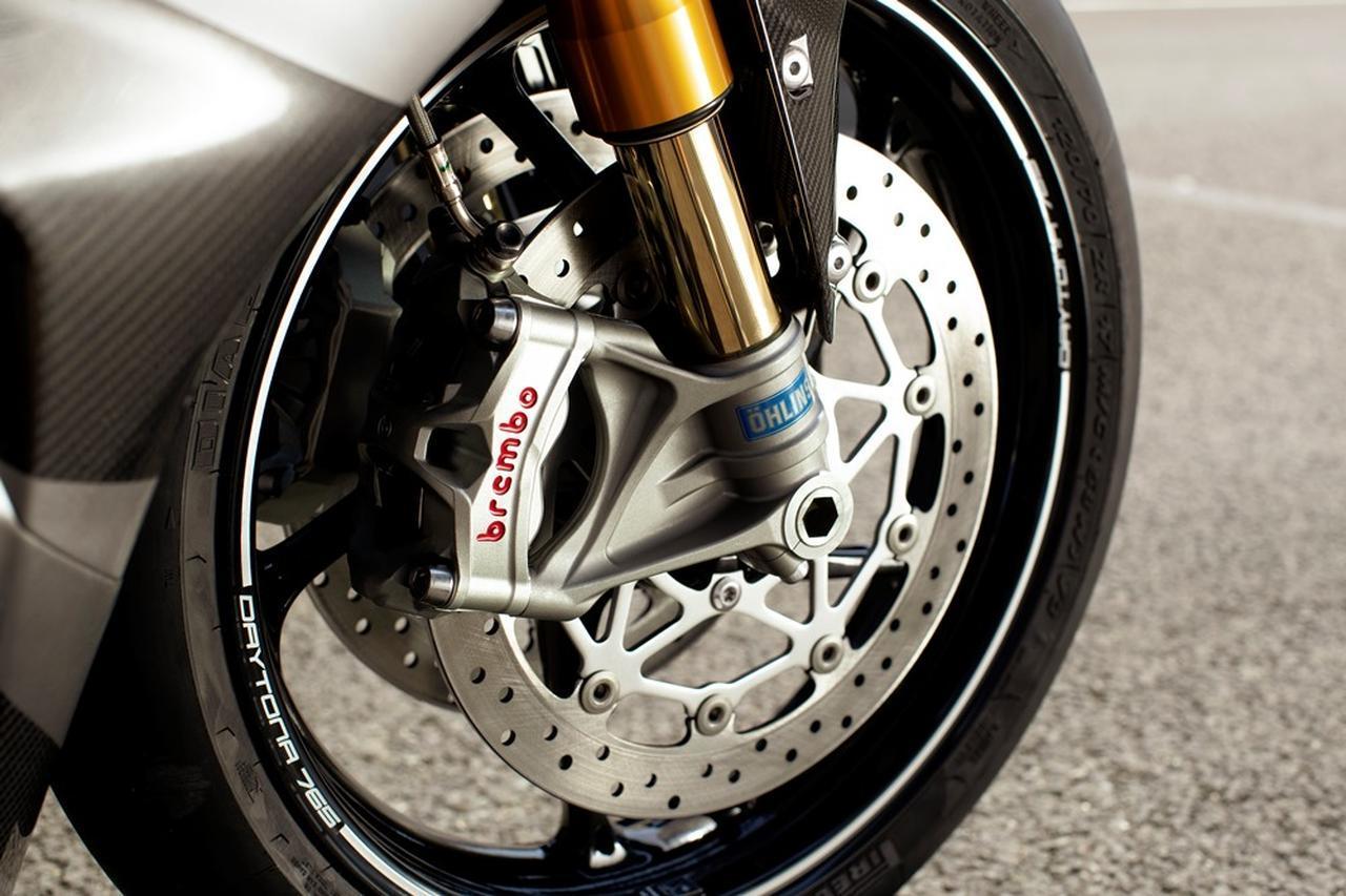 画像: 新型高性能Brembo製Stylema®ブレーキ