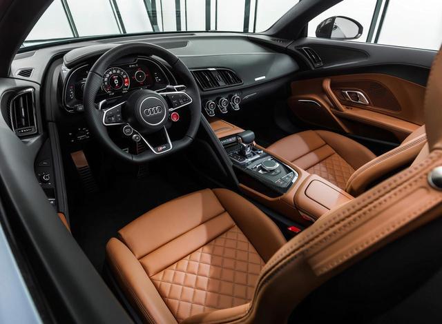 画像: Audi R8 Spyder(アウディ R8 スパイダー)のインテリア