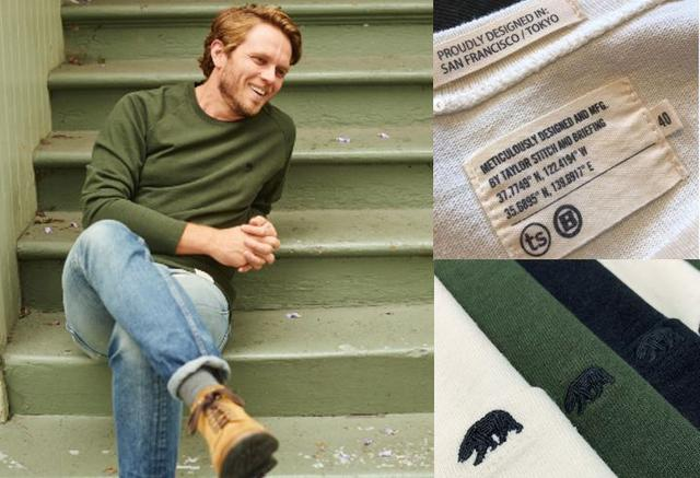 画像: Heavy Bag Long Sleeve【ブリーフィングコラボ】ヘビーバックロングスリーブ 価格: 10,000円(税抜) COLOR: White/ Black/ Olive