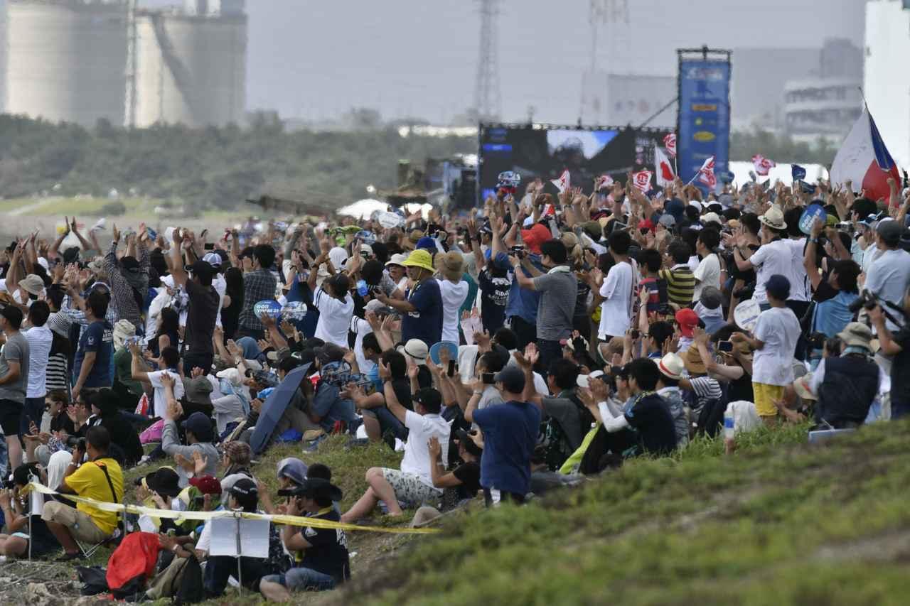 画像: 2日間で10万人が千葉の幕張に来場したエアレース2019。