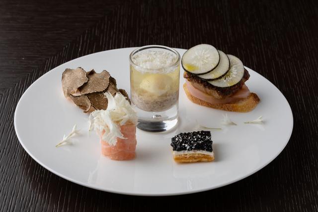 画像: フォーシーズンズホテル丸の内 東京 アフタヌーンティー セイボリー(軽食) イメージ