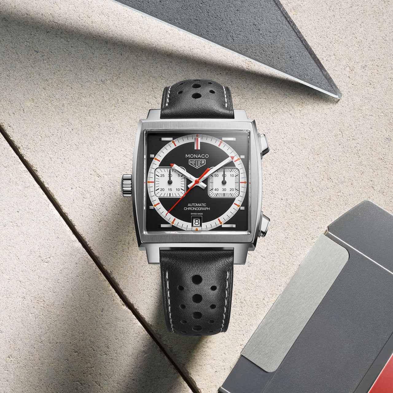 画像1: 人気モデル「モナコ」誕生50周年 タグ・ホイヤー限定コレクション