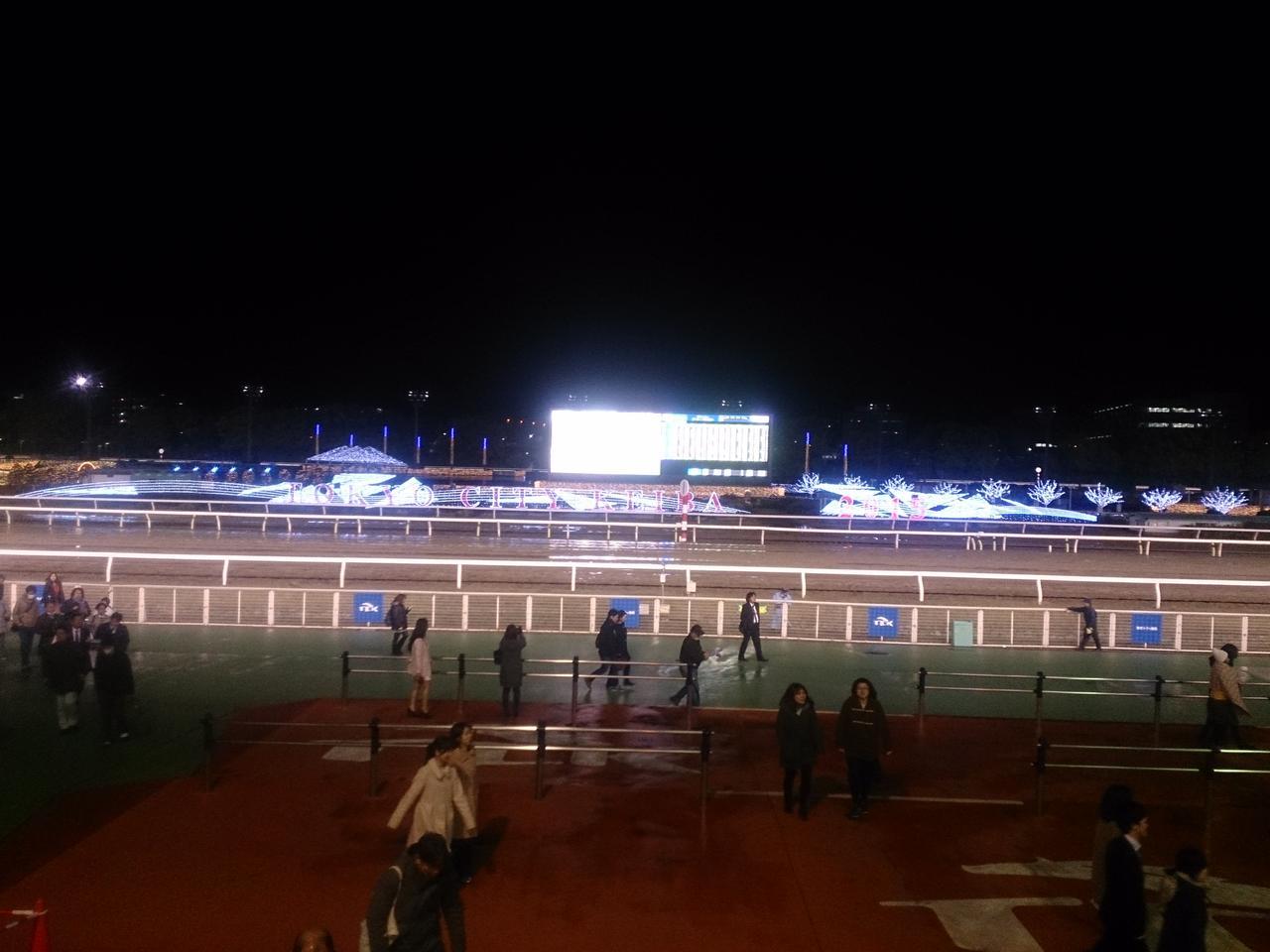 画像: 東京シティ競馬(大井競馬場)。トゥインクルレース。