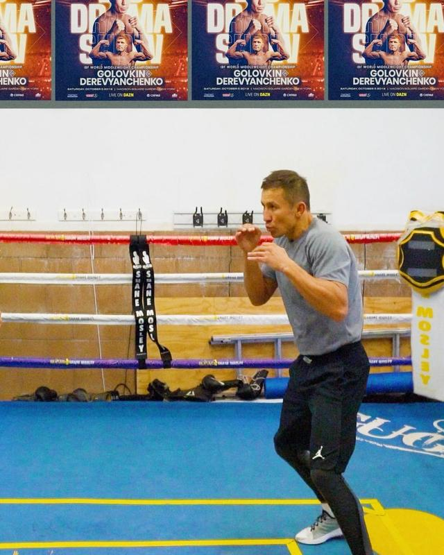 "画像1: Gennadiy Golovkin | GGG on Instagram: ""Getting ready for the Big Drama Show on @dazn_usa"" www.instagram.com"