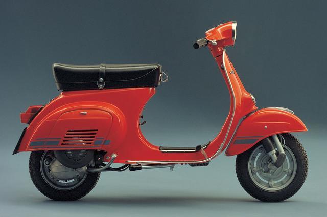 画像: 1976年に発表されたVespa Primavera ET3