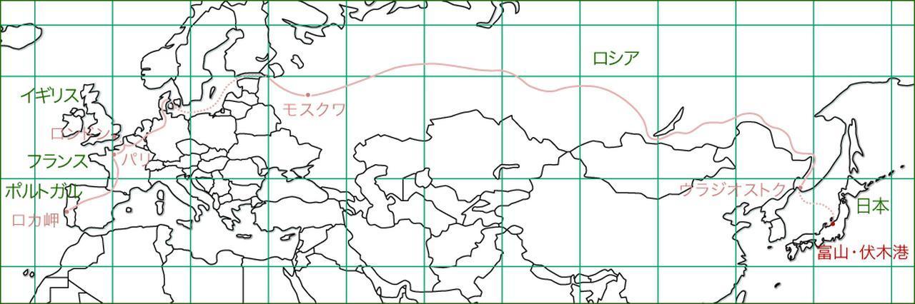 画像: ヨーロッパまでロシアの大地を走ってみたかった。