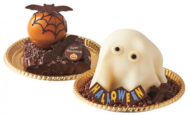 画像: バット・アーモンドチョコレート(画像左)/ ゴースト・ピーカンナッツ和三盆(画像右) 各2,800円(税抜)