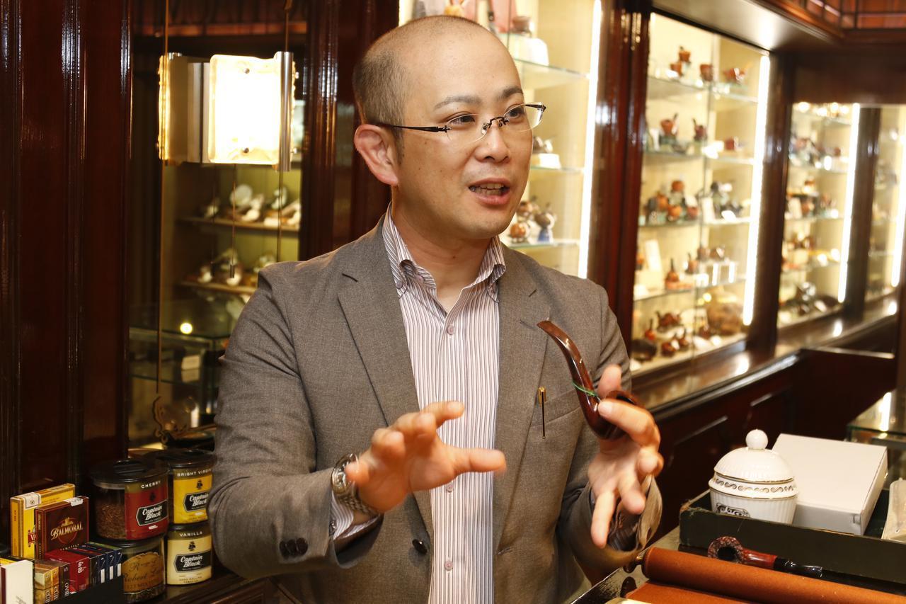画像1: 銀座の名店・菊水に聞く 大人の嗜好品「パイプ・キセル」