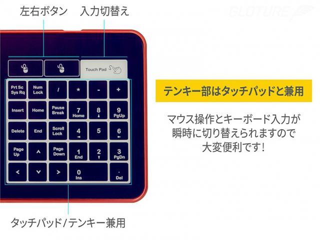画像2: ガラス製キーボード「Bastron B10」登場
