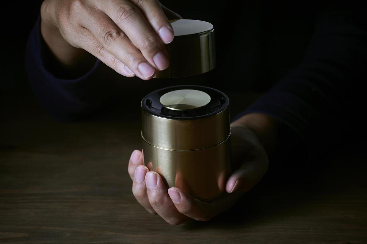 画像: 「響筒」 by Panasonic x 開化堂