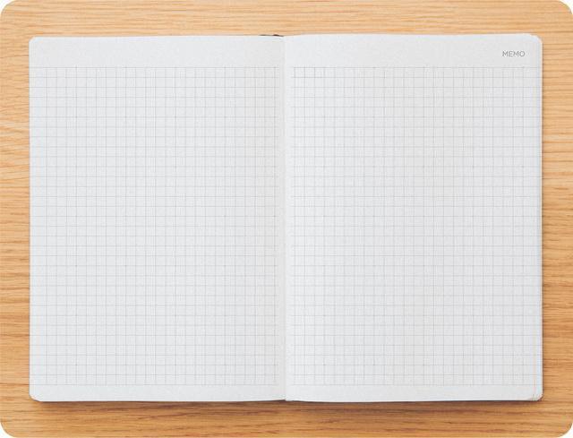 画像: メモ(方眼)58ページ