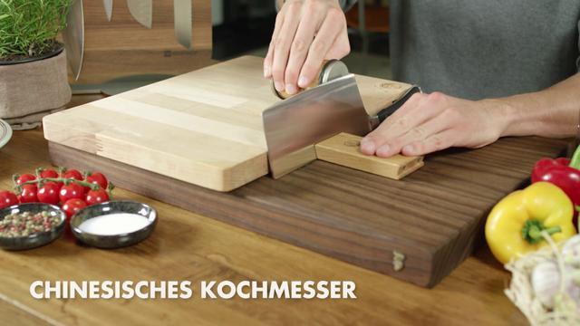 画像: Unterschiedliche Küchenmesser schärfen mit dem Rollschleifer von HORL-1993 youtu.be