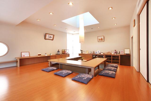 """画像: KTC社内にあるミーティングルームは""""和の心""""を大切にしている証。また外国からのお客様をおもてなしにも使われる。"""
