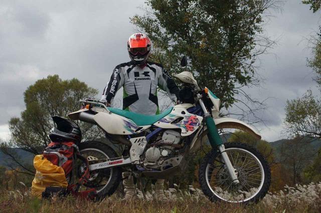画像: Kawasaki KLXなどのオフロードバイクに乗っていました