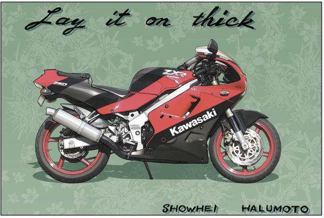画像1: 古き良き時代のバイクを若者は楽しめるのか? RIDE『Ray it on thick』(東本昌平先生)より