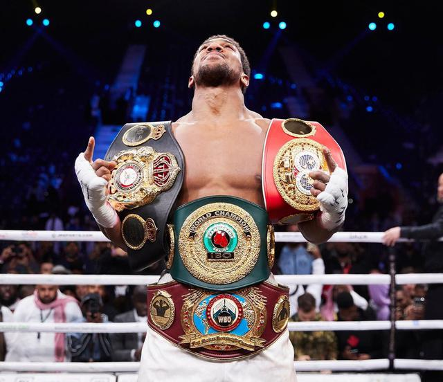 "画像1: Anthony Joshua on Instagram: ""My hope is that someone sees my page and decides not to give up. Clean hearts win "" www.instagram.com"