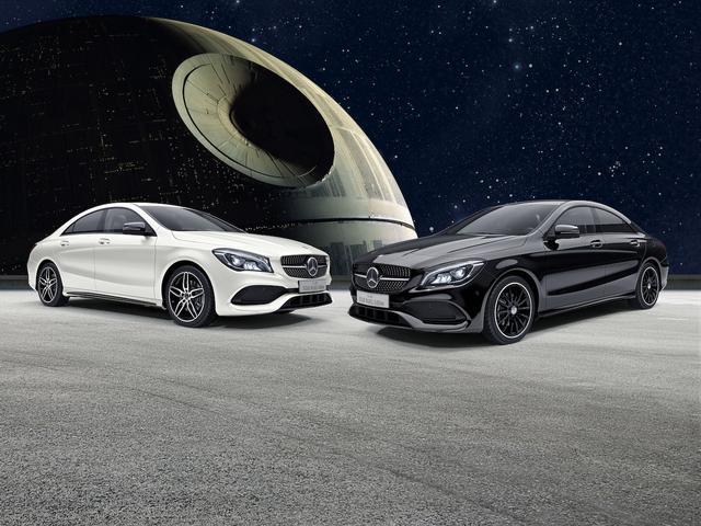 画像: 左:カルサイトホワイト、右:ナイトブラック。それぞれ60台ずつの限定だった。