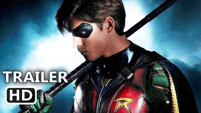画像: TITANS Official Trailer #1 [HD] DC Universe, Brenton Thwaites, Teagan Croft, Anna Diop youtu.be