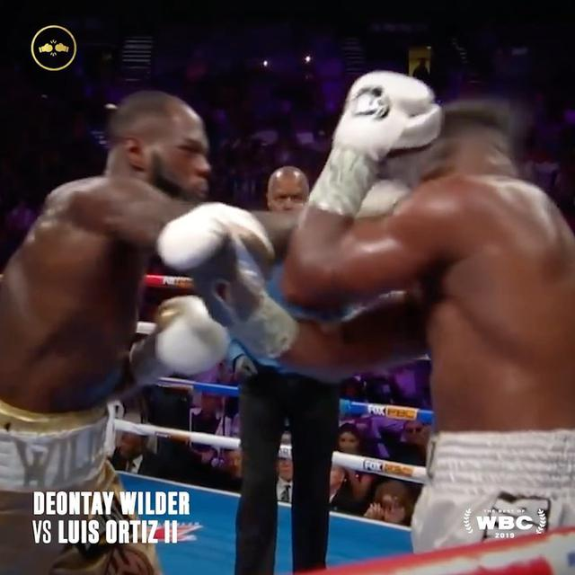 "画像1: World Boxing Council on Instagram: ""#KOFRIDAY is here with The Knockout of The Year 2019 nominees!  Wilder VS Ortiz 2 6/6  #WBC #ConquerEverything #Boxing #bestofwbc19"" www.instagram.com"