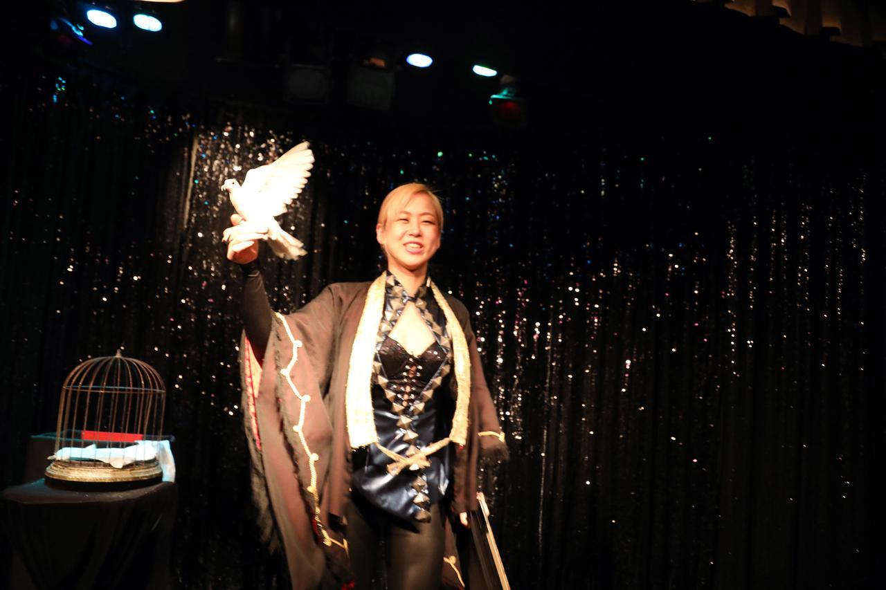 画像7: 心奪われるショーを体感出来る、不思議なマジックBAR