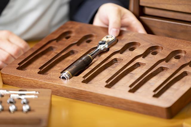 画像: 京都の伝統工芸が工具にも使われる