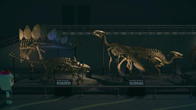 画像2: 島の博物館にて発見できる恐竜
