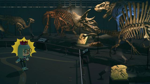 画像3: 島の博物館にて発見できる恐竜