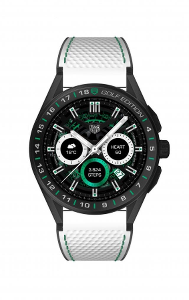 画像: ゴルファーに向けた腕時計「タグ・ホイヤー コネクテッド ゴルフエディション」