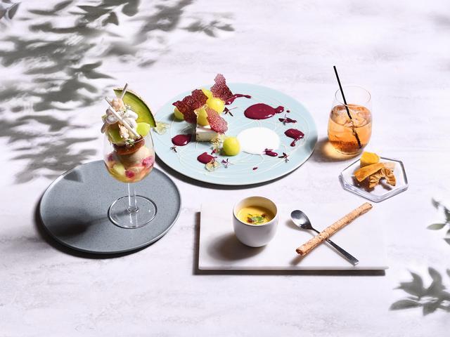 画像1: 完全予約制 フルーツの贅沢フルコースで夏のひとときを...