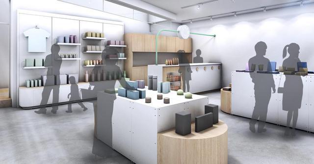 画像: アジア第一号店を飾る「New Stand Tokyo」@東京・乃木坂