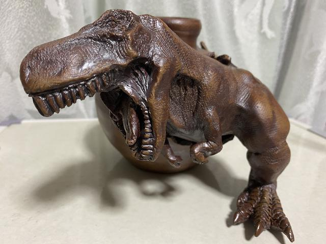 画像3: これぞアート!恐竜陶芸