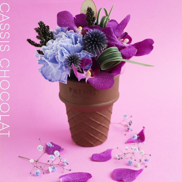 画像3: 大切な人へ贈るお花スイーツ この夏はカラフルな「ICECREAM BOUQUET」をあの人へ