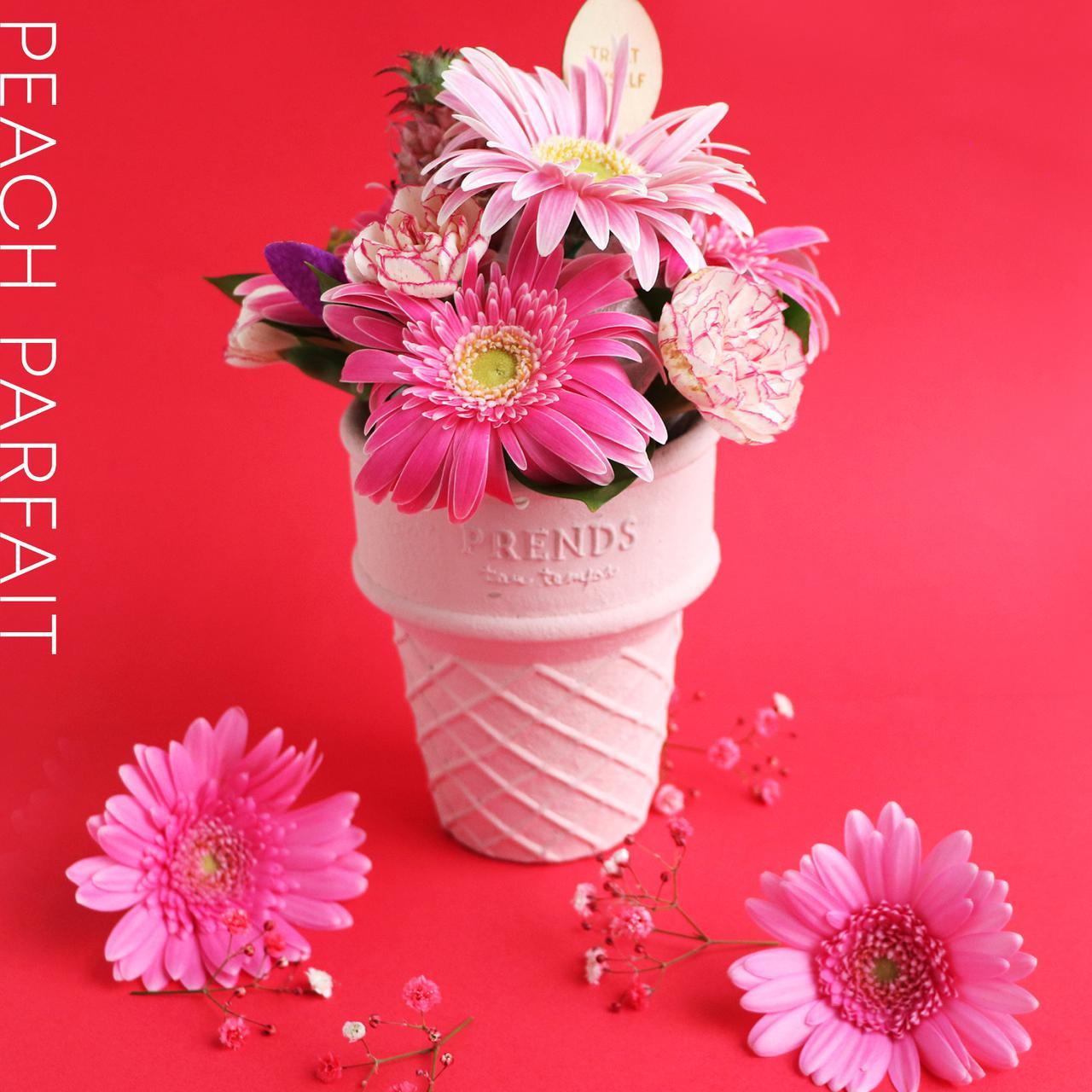 画像2: 大切な人へ贈るお花スイーツ この夏はカラフルな「ICECREAM BOUQUET」をあの人へ