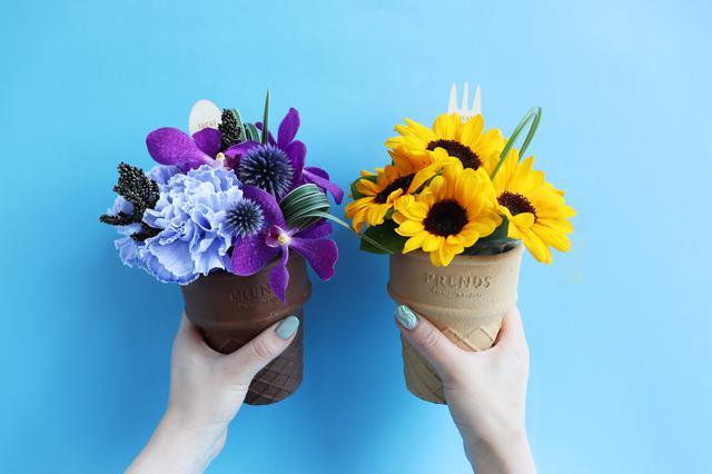 画像6: 大切な人へ贈るお花スイーツ この夏はカラフルな「ICECREAM BOUQUET」をあの人へ