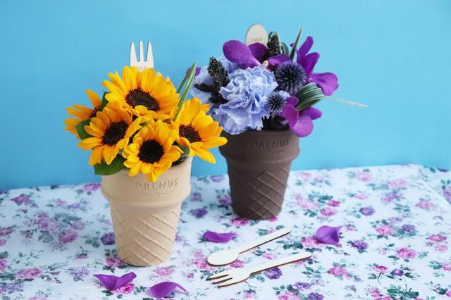 画像5: 大切な人へ贈るお花スイーツ この夏はカラフルな「ICECREAM BOUQUET」をあの人へ