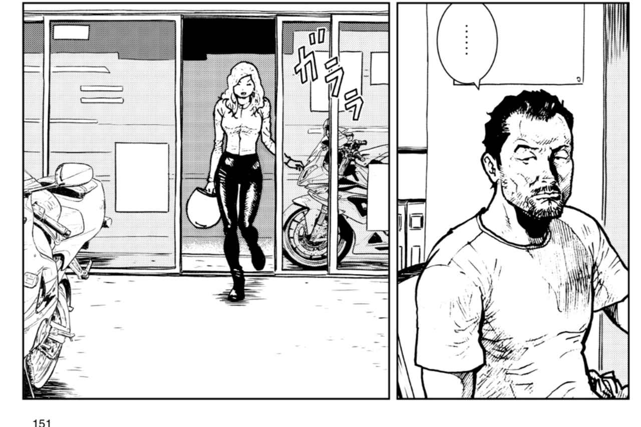 画像3: 友人のバイク屋を手伝う松ちゃん