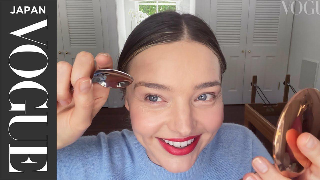 画像: ミランダ・カー流、デートに使える勝負メイク。| My Beauty Tips | VOGUE JAPAN youtu.be
