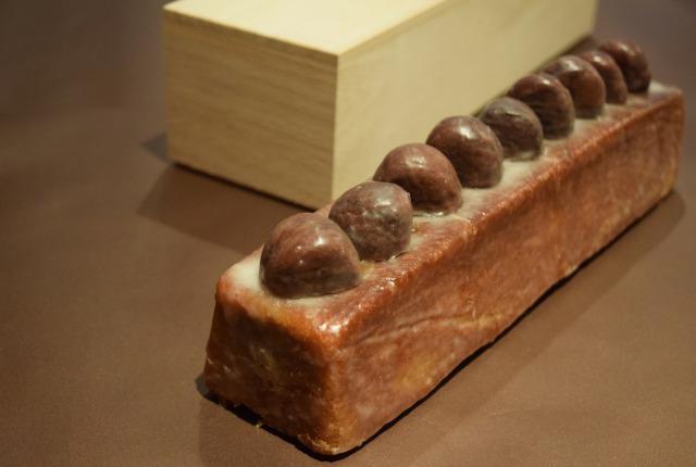 画像: 極上和栗のパウンドケーキ(30㎝) 桐箱入り