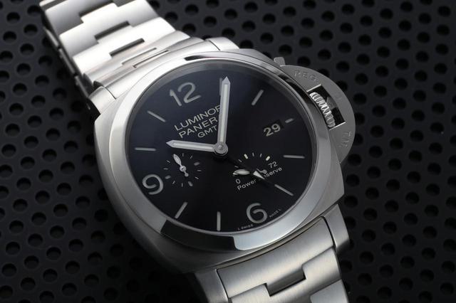 画像: ルミノール1950 3DAYS GMT パワーリザーブ ACCIAIO